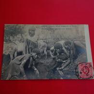 ITALIAN MISSIONS BRITISH EAST AFRICA KENYA GUERRIER  QUI BOIT LE SANG D UNE VACHE - Kenya
