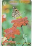 Antigua And Barbuda - Butterfly - The Futillary Or Flambeau - 132CATD - Antigua And Barbuda