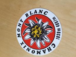 Autocollant Chamonix Mont Blanc - Stickers