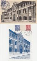 LOT CP CAPITULATION ALLEMANDE - REIMS 1945 - Marcophilie (Lettres)
