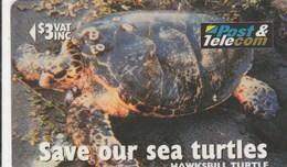 """Fiji - Hawksbill Turtle """"Taku"""" - 17FIB - Fiji"""
