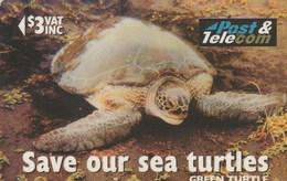 """Fiji - Green Turtle """"Vonu Dina"""" - 17FJB - Fiji"""