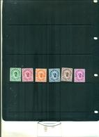 GUINEE TIMBRES-TAXE 6 VAL NEUFS A PARTIR DE 0.75 EUROS - Guinea (1958-...)