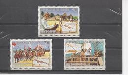GUINEE - Christophe COLOMB - Les Voyages : Construction Du Fort Navidad,Débarquement à Hispaniola, Colmb Et Indiens - Guinea (1958-...)