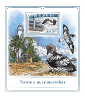 Mozambique 2018 Lighthouse Sea Birds Lighthouses S/S MOZ18207b - Agriculture