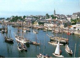 Douarnenez Le Port Musée Le Bassin A Flot Du Port Rhu 1993  CPM Ou CPSM - Douarnenez