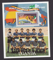 Uganda, Scott #359C, Mint Never Hinged, World Cup, Issued 1982 - Uganda (1962-...)