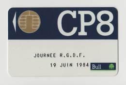 Carte Bull CP8 - Journée R.G.D.F 19 Juin 1984 - RARE - France