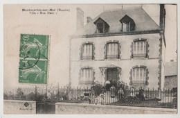 CPA MONTMARTIN SUR MER Villa Mon Désir - Montmartin Sur Mer