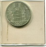 Zilveren Munt Albert II 250 Frank In Originele (verzegelde) Verpakking !! - 07. 250 Francs