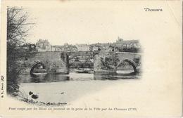 Thouars - Pont Coupé Par Les Bleus Au Moment De La Prise De La Ville Par Les Chouans (1793) - Thouars