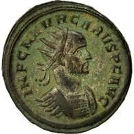 Monnaie, Carus, Antoninien, AD 282, Rome, SUP, Billon, RIC:42 Var. - 5. L'Anarchie Militaire (235 à 284)