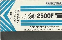 Togo - Logo  2500 F - Togo