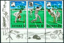 GUYANA, SPORT, CRICKET, 1968, FRANCOBOLLI NUOVI (MNH**) Michel 298-300   Scott 36-38 - Guiana (1966-...)
