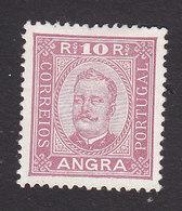 Angra, Scott #2, Mint No Gum, King Carlos, Issued 1892 - Angra