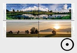 Liechtenstein 2016 Set CTO - Nature Reserves In Liechtenstein – Ruggeller Riet - Liechtenstein
