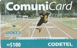 Dominicana - Juegos Panamericanos 2003 - Hurdling - Dominicana