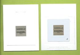 CHANEL * GABRIELLE  * CARD * PATCH  7,5 X 9,7 Cm V/R - Perfume Cards