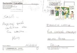 CART X ITALIA SANTANDER - 1931-Oggi: 2. Rep. - ... Juan Carlos I