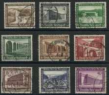 Allemagne Empire (1936) N 582 A 590 (o) - Deutschland