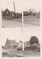 OORDEREN-2 ORIGINELE FOTO'S-AFBRAAK-27.08.1965-ZIE DE 2 SCANS-UNIEKE ARCHIEFSTUKKEN ! ! ! - België