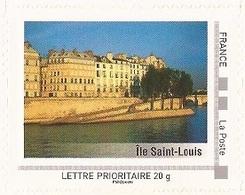 """FRANCE 2009 Collector """" Paris """" : Île Saint - Louis - Tbre Neuf **  (adhésif) - Collectors"""