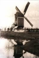 GRAVE (Noord-Brabant) - Molen/moulin - Mooie Kaart Van De Verdwenen Graafsemolen, Opgezeild En In Bedrijf (opname 1922) - Pays-Bas