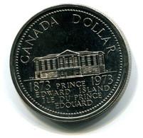 1973 Canada Prince Edward Island Centennial $1 Coin - Canada