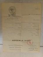 Ordre De Mission Gouvernement Provisoir 2e Guerre - Documents Historiques