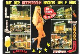 Germany - Hamburg - St. Pauli - Reeperbahn - PIN UP - Femme - Nude Girl - Woman - Frau - Erotic - Erotik - Pin-Ups