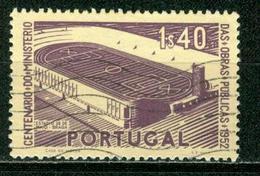 BM Portugal 1952   MiNr 785   Used   100 Jahre Ministerium Für öffentliche Arbeiten, Stadion In Braga - 1910 - ... Repubblica