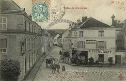 /! 4699 - CPA/CPSM  :  78 - Chevreuse : La Grande Rue - Chevreuse