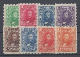HONDURAS 1903 GENERAL SANTOS GUARDIOLA Nº 92/99 - Honduras