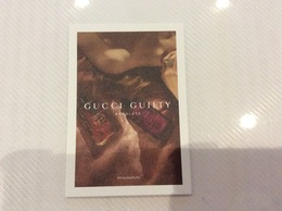 Carte GUCCI Guilty - Perfume Cards