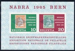 Schweiz, 1965, 812/13 Block 20, 100 Jahre Internationales Rotes Kreuz. MNH ** - Blocks & Sheetlets & Panes