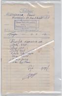 FAKTUUR-TONGEREN-SYLVAIN BAILLIEN-BAZAR-HASSELTSESTRAAT-VELOS-BROMMER-MOBYLETTE-FLANDRIA 1960-49 CC-HARDELINGEN - Transportmiddelen