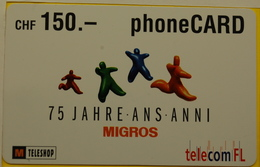 PhoneCARD   MIGROS - Switzerland