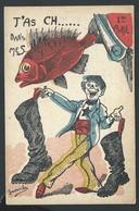 +++ CPA FANTAISIE - 1er Avril - Poisson - Illustrateur GAVROCHE - Humour Caricature  // - April Fool's Day