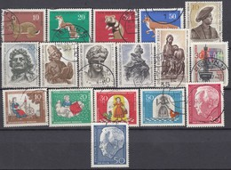 BERLIN Jahrgang 1967 Komplett Gestempelt, 299-315 - Used Stamps