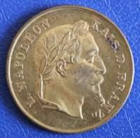 Jeton Napoléon III, Kais. D. Franz. - Royal / Of Nobility