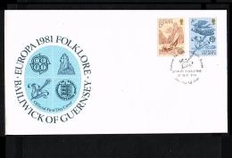 1981 - Europe CEPT FDC Great Britain-Guernsey [JQ093] - Europa-CEPT
