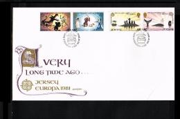 1981 - Europe CEPT FDC Great Britain-Jersey [JQ095] - Europa-CEPT
