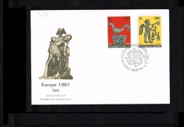 1981 - Europe CEPT FDC Ireland [JQ096] - Europa-CEPT