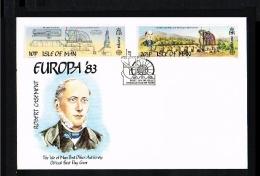1983 - Europe CEPT FDC Great Britain-Isle Of Man [JQ113] - Europa-CEPT