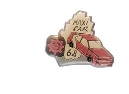Pin's - VOITURE ROUGE - MAXI CAR 68 - HAUT RHIN MULHOUSE - Badges