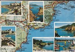 83----VAR---carte Géographique---( Multivues)---voir 2 Scans - France