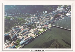 PONTEDEUME, CORUÑA. VISTA GENERAL.-BLEUP - La Coruña