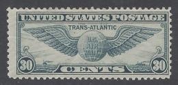 UNITED STATES 1939 AIR MAIL 30c BLUE Nº 25 - Air Mail
