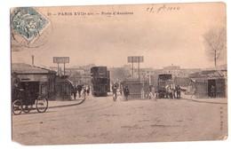 1167 - Paris ( 17e ) - Porte-d'Asnière - C.A.D. à Paris - N°21 - - Distretto: 17