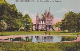 HENIN-LIETARD (62) - Le Parc Public Et Le Château - 1930 - Henin-Beaumont